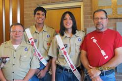 Coleman and DaKoda Josh eagle scouts