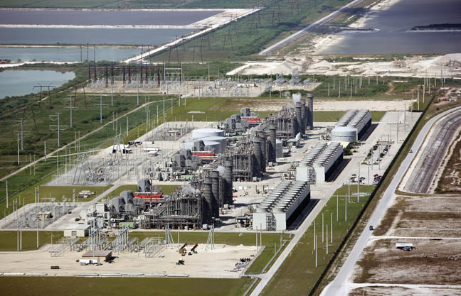 This massive sprawl of an FPL power plant in Palm Beach County could be duplicated right next door to the Big Cypress Reservation.
