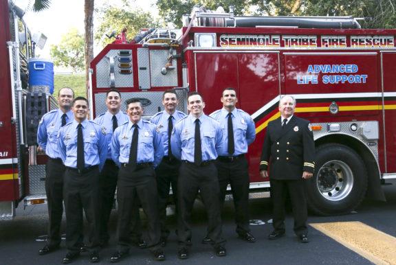 The Seminole TribuneFire Rescue welcomes  new graduates