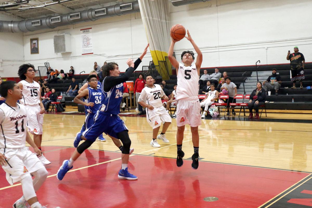 Ahfachkee boys basketball 9
