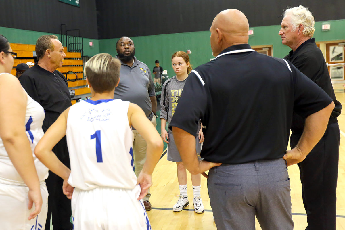 Moore Haven girls basketball 1
