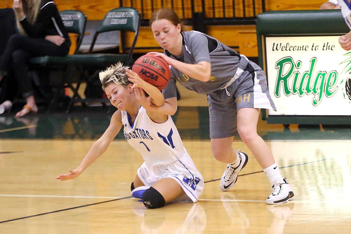 Moore Haven girls basketball 8