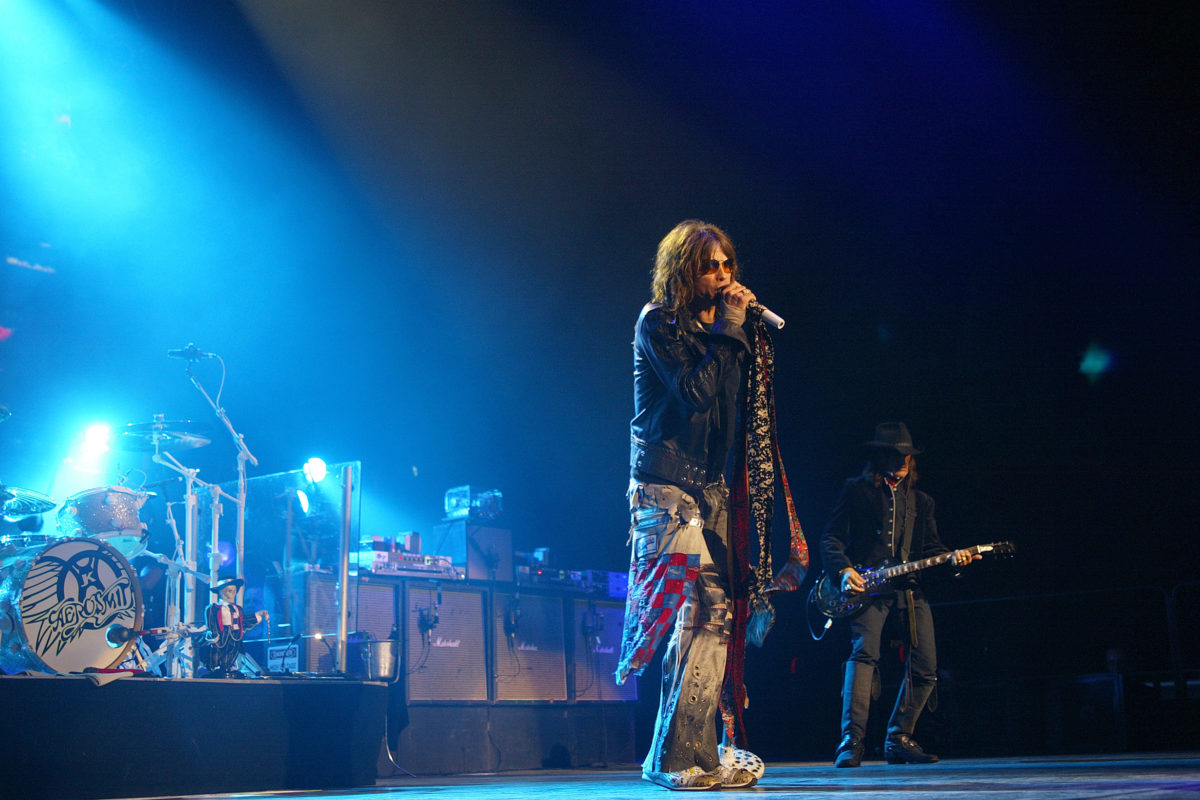 Aerosmith – March 2, 2006 performance