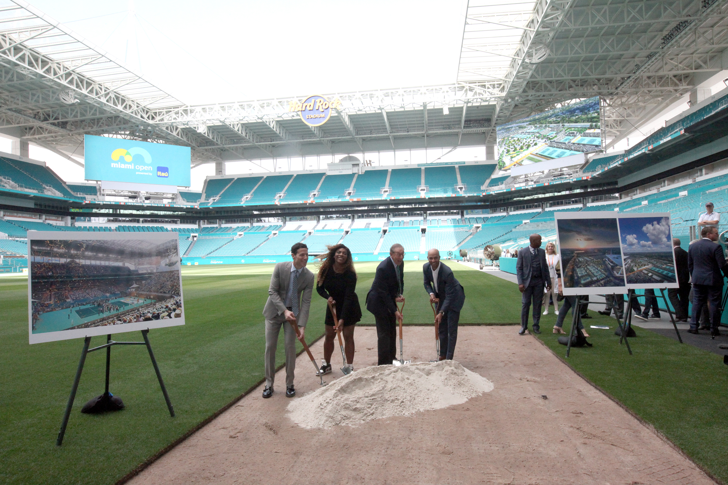 miami open ready for shift to hard rock stadium • the