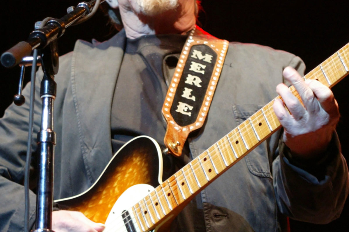 Merle Haggard – May 11, 2006 with Bob Dylan