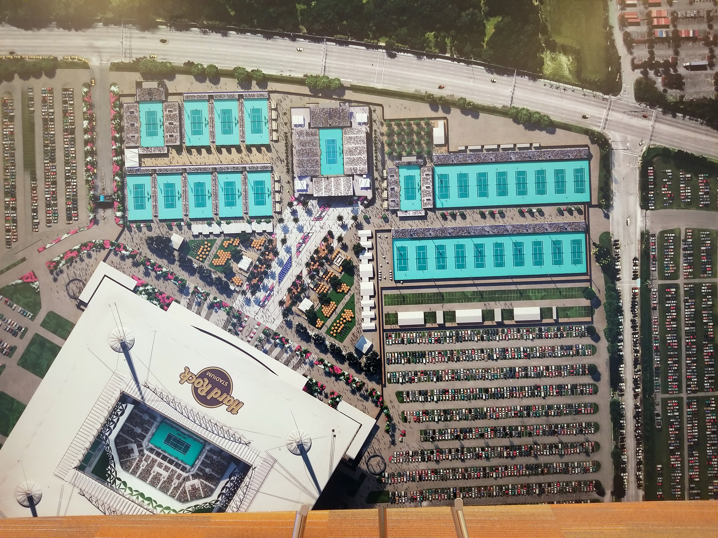 hard rock stadium living up to role as 'global